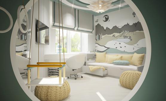 Дизайн интерьера квартиры в новостройке 140 кв.м. по адресу г. Балашиха, ш. Энтузиастов, д. 79. Фото 2