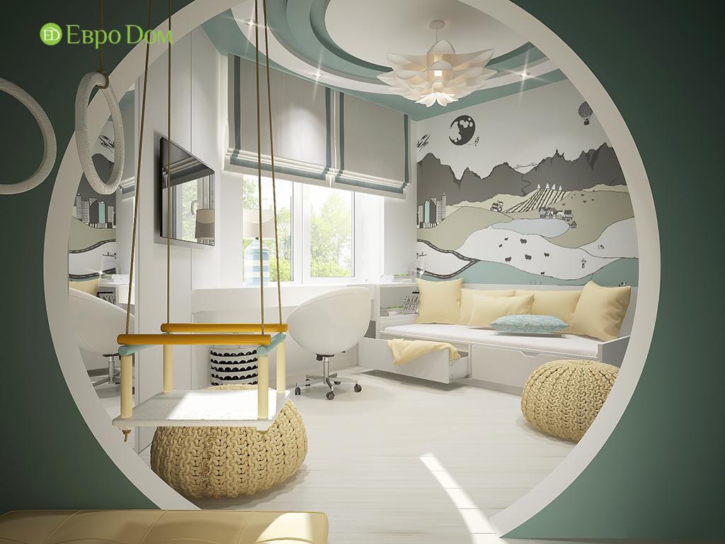 Дизайн пятикомнатной квартиры в современном стиле. Фото 03