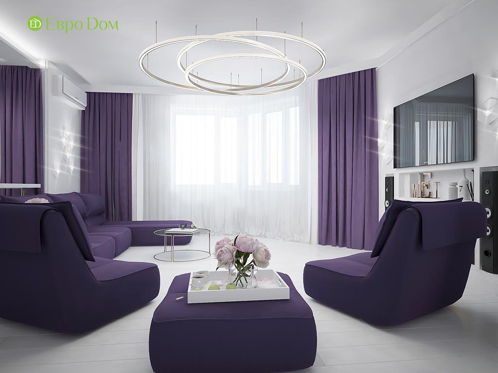 Дизайн пятикомнатной квартиры в современном стиле. Фото 010
