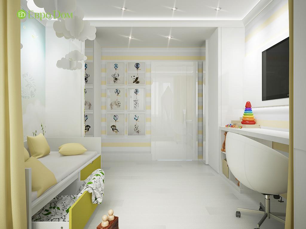 Дизайн пятикомнатной квартиры в современном стиле. Фото 011