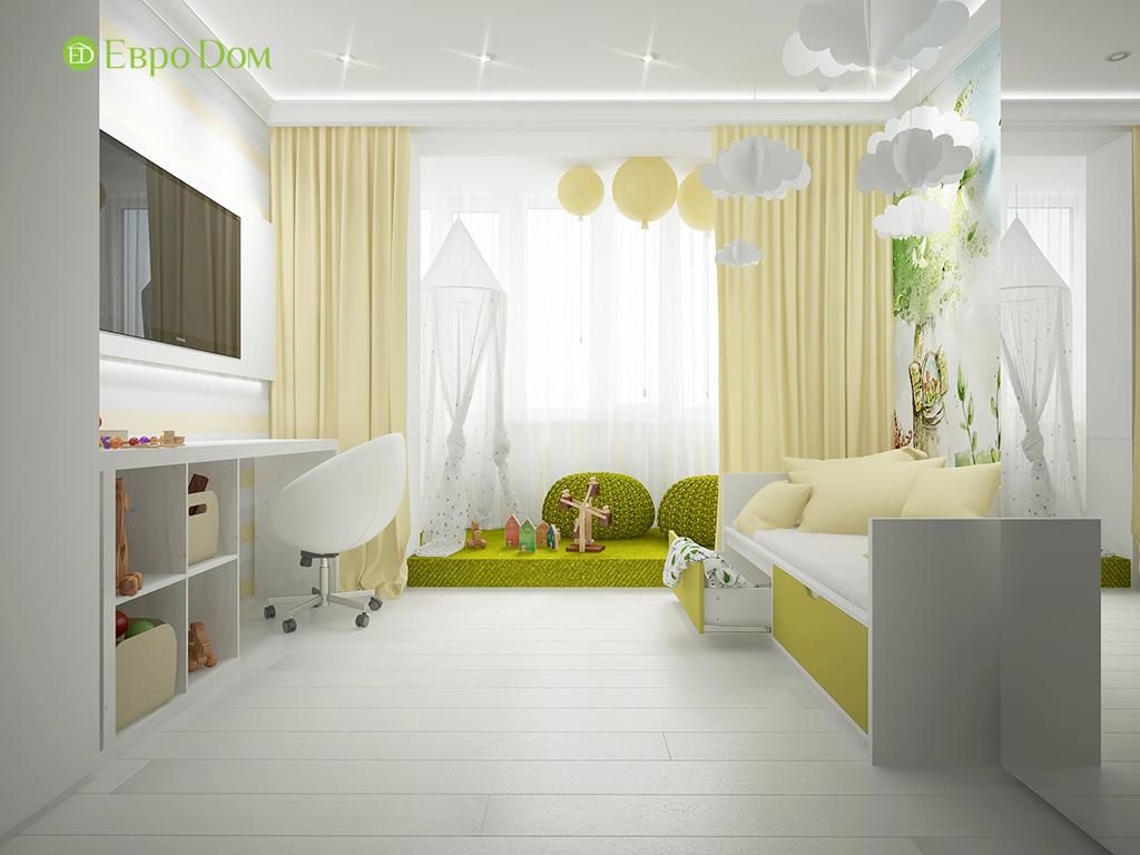 Дизайн пятикомнатной квартиры в современном стиле. Фото 012