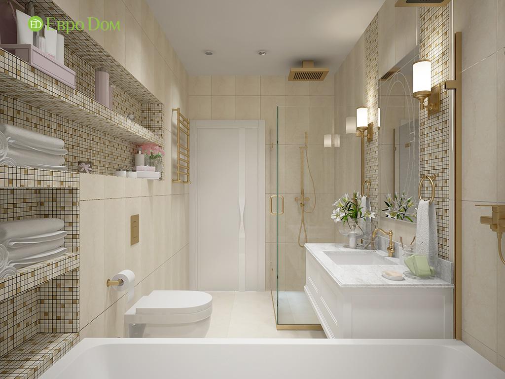 Дизайн пятикомнатной квартиры в современном стиле. Фото 014