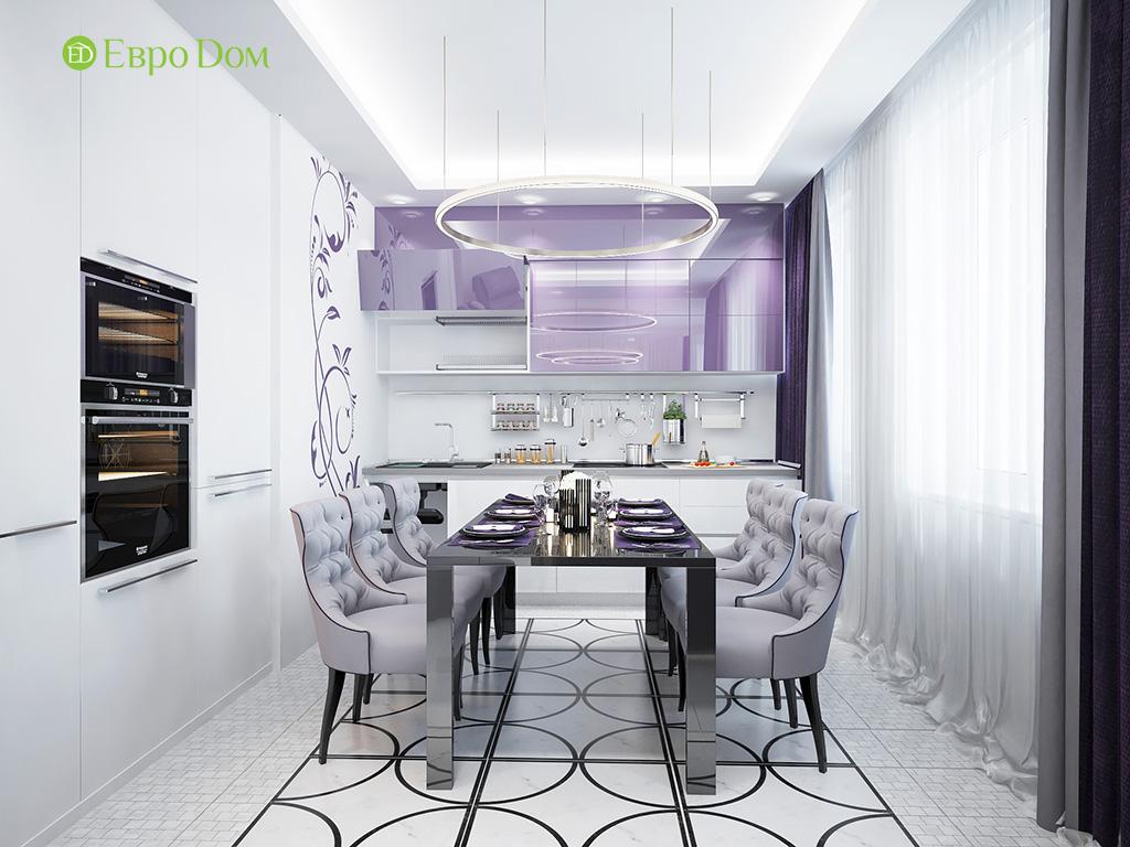 Дизайн пятикомнатной квартиры в современном стиле. Фото 015