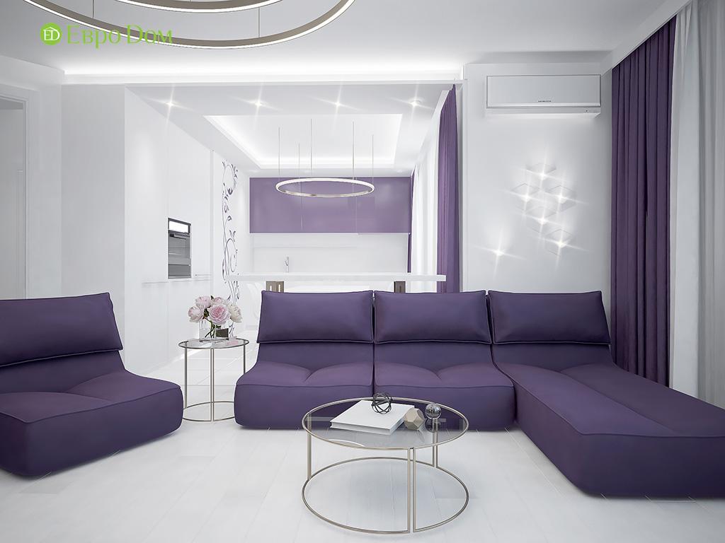 Дизайн пятикомнатной квартиры в современном стиле. Фото 016