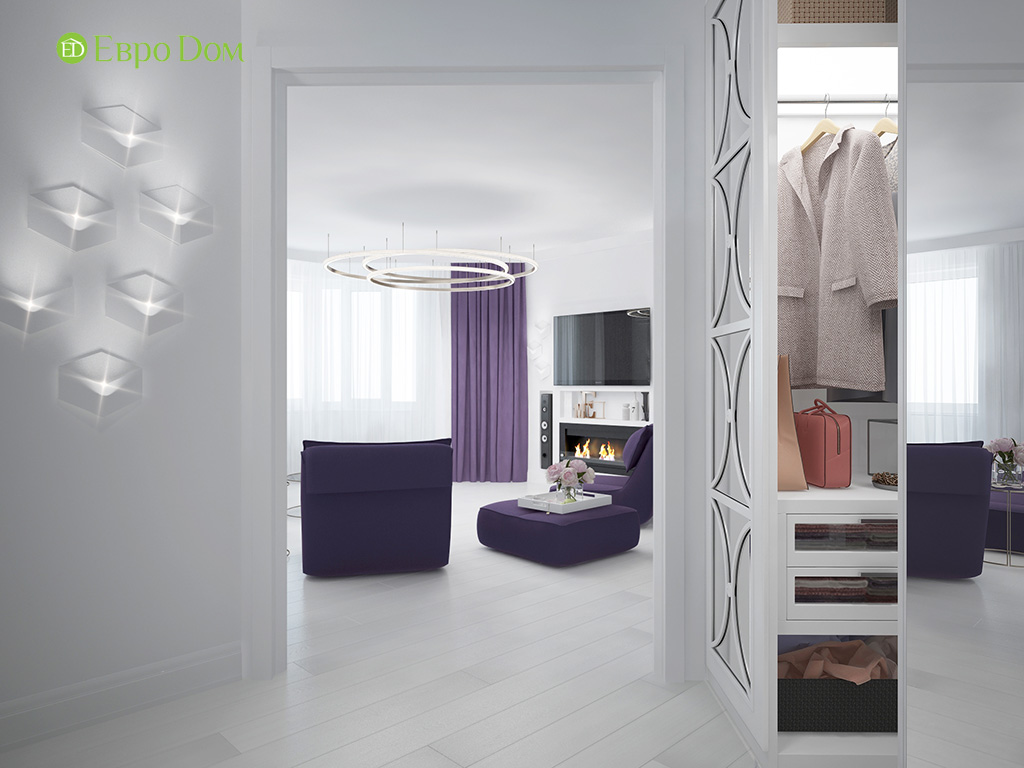 Дизайн пятикомнатной квартиры в современном стиле. Фото 017