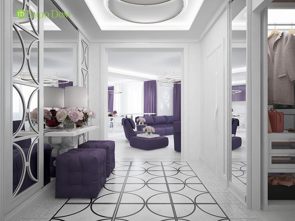 Дизайн пятикомнатной квартиры в современном стиле. Фото 018