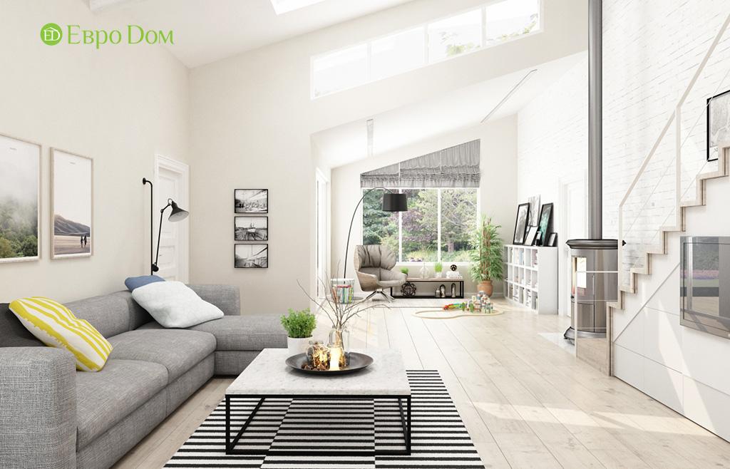 Дизайн шестикомнатного дома в скандинавском стиле. Фото 018
