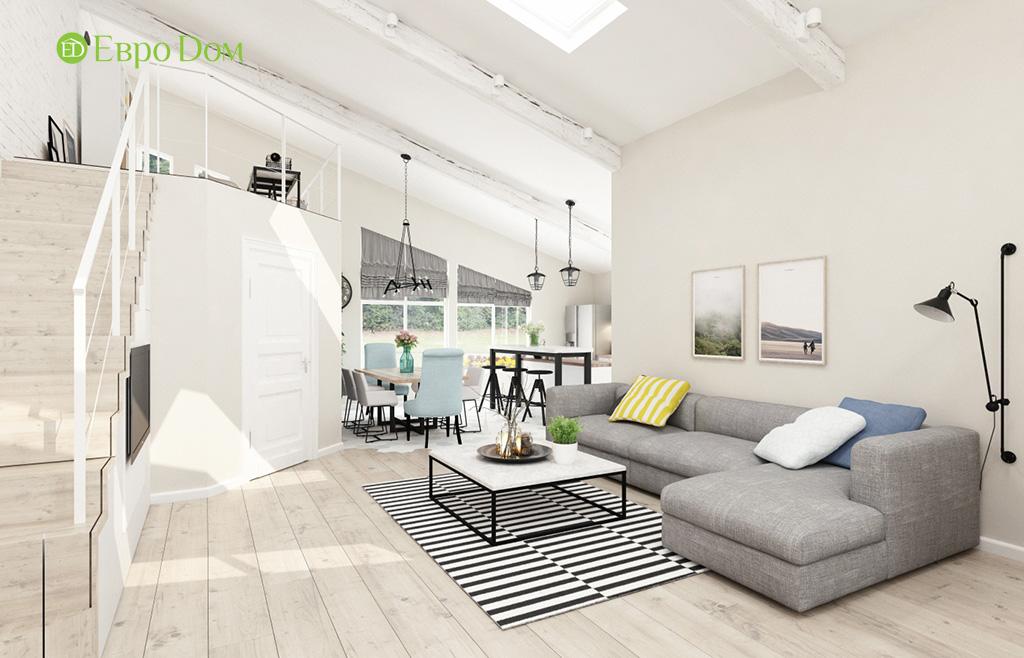 Дизайн шестикомнатного дома в скандинавском стиле. Фото 015