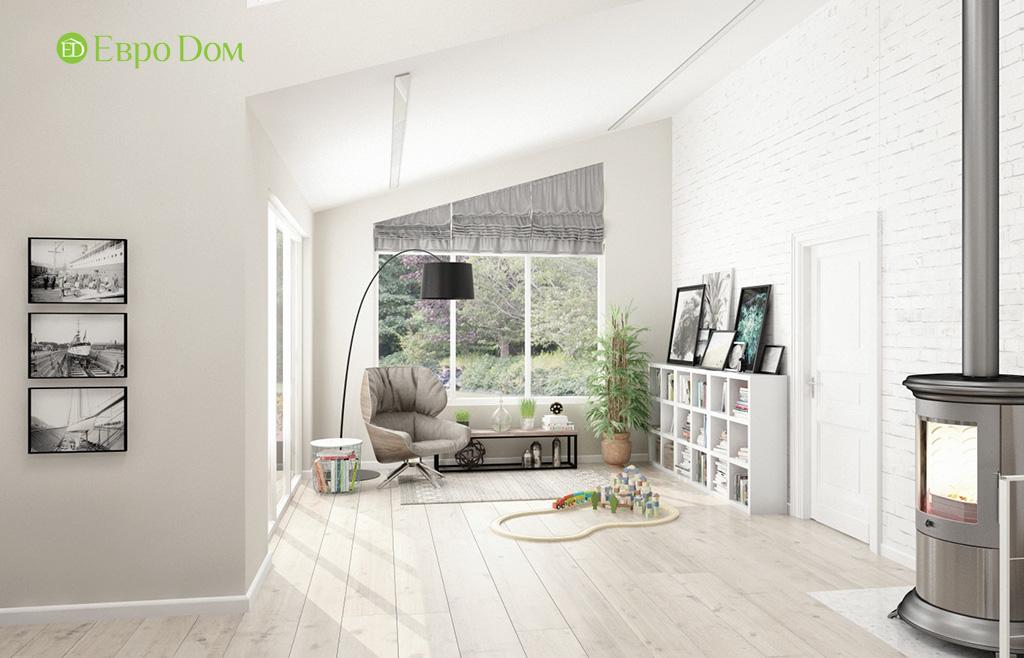 Дизайн шестикомнатного дома в скандинавском стиле. Фото 014