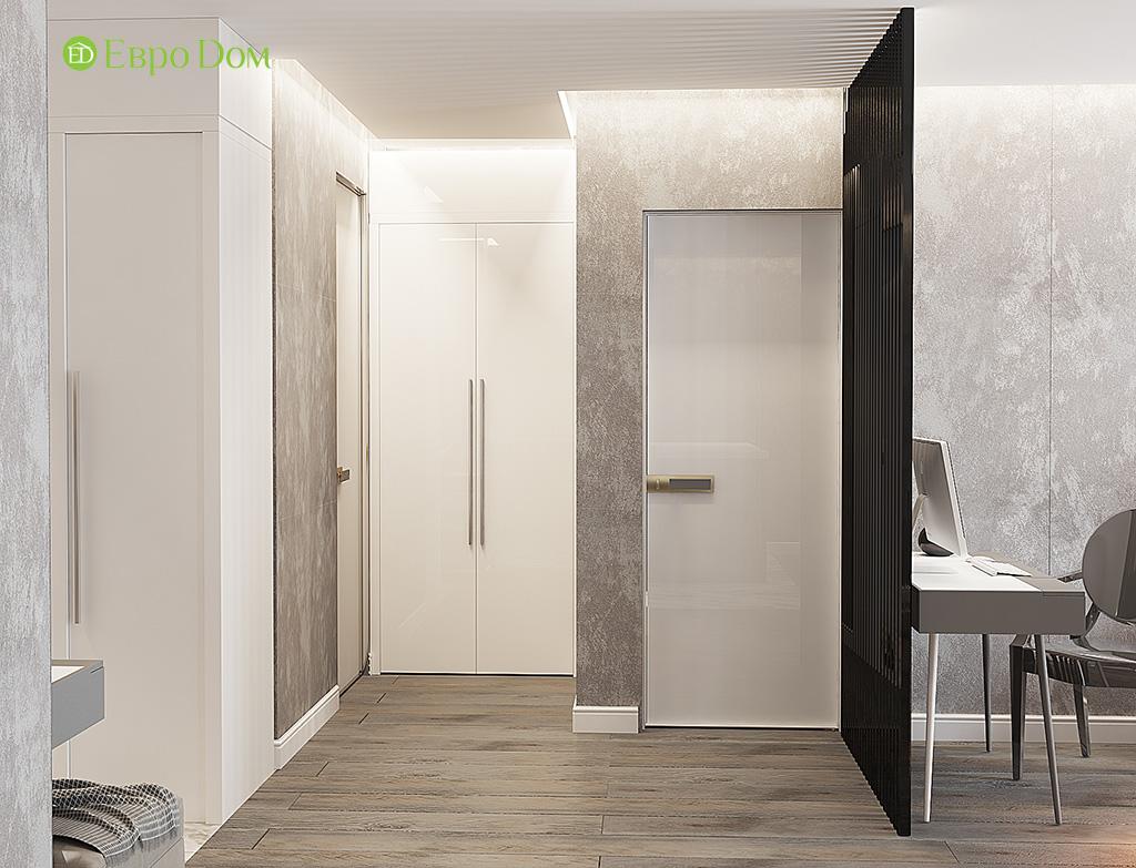 Дизайн двухкомнатной квартиры 50 кв. м в современном стиле. Фото 04