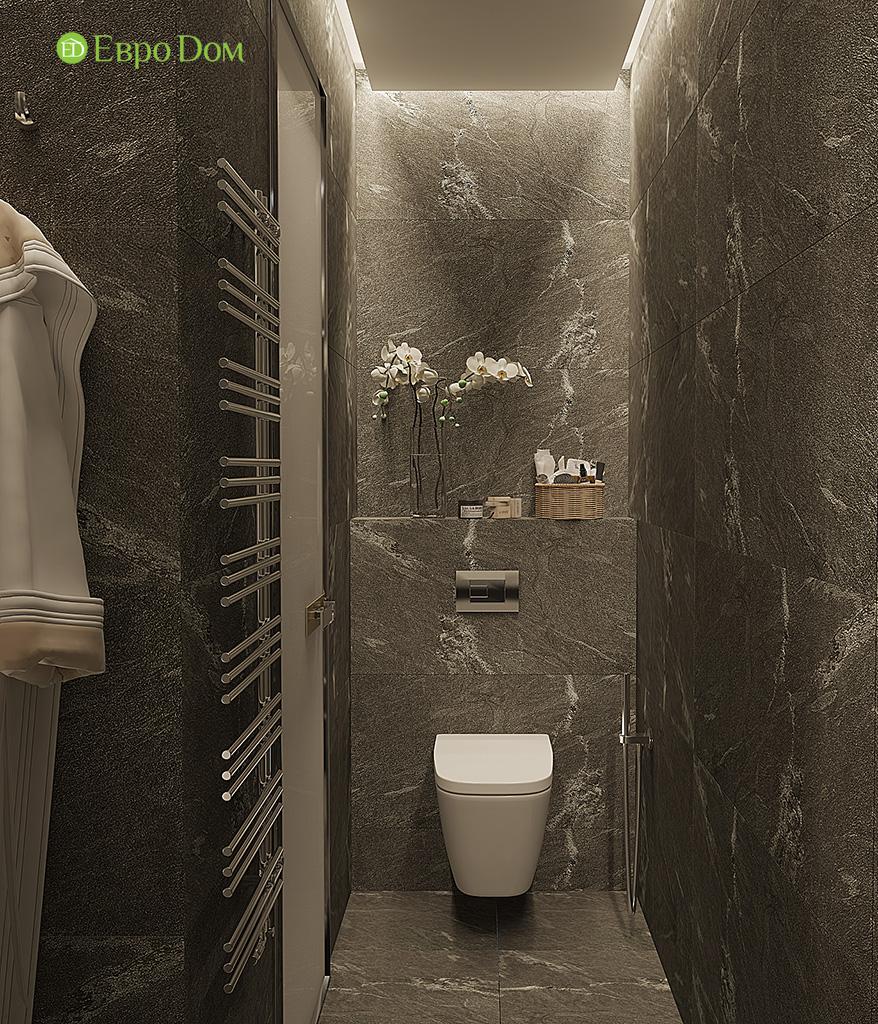 Дизайн двухкомнатной квартиры 50 кв. м в современном стиле. Фото 010