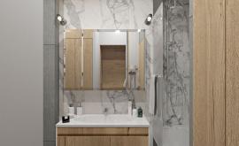 Дизайн интерьера 1-комнатной квартиры 40 кв.м. по адресу г. Москва, ул. Новодмитровская, д 2, ЖК Савеловский Сити. Фото 1