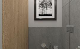 Дизайн интерьера 1-комнатной квартиры 40 кв.м. по адресу г. Москва, ул. Новодмитровская, д 2, ЖК Савеловский Сити. Фото 4