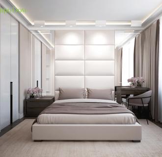 Дизайн трехкомнатной квартиры 85 кв. м в современном стиле. Фото проекта