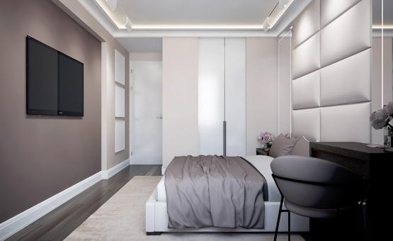 Дизайн интерьера трехкомнатной квартиры 85 кв.м. по адресу г. Мытищи, проспект Астрахова, 12а. Фото 4