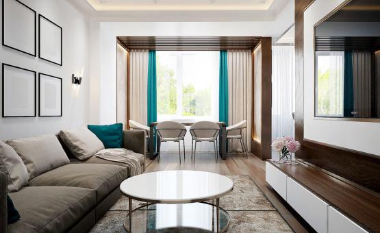 Дизайн интерьера квартиры в новостройке