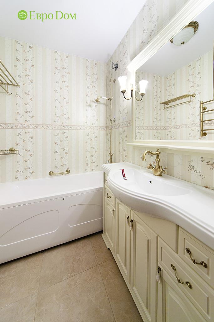 Ремонт трехкомнатной квартиры с стиле неоклассика. Фото 02