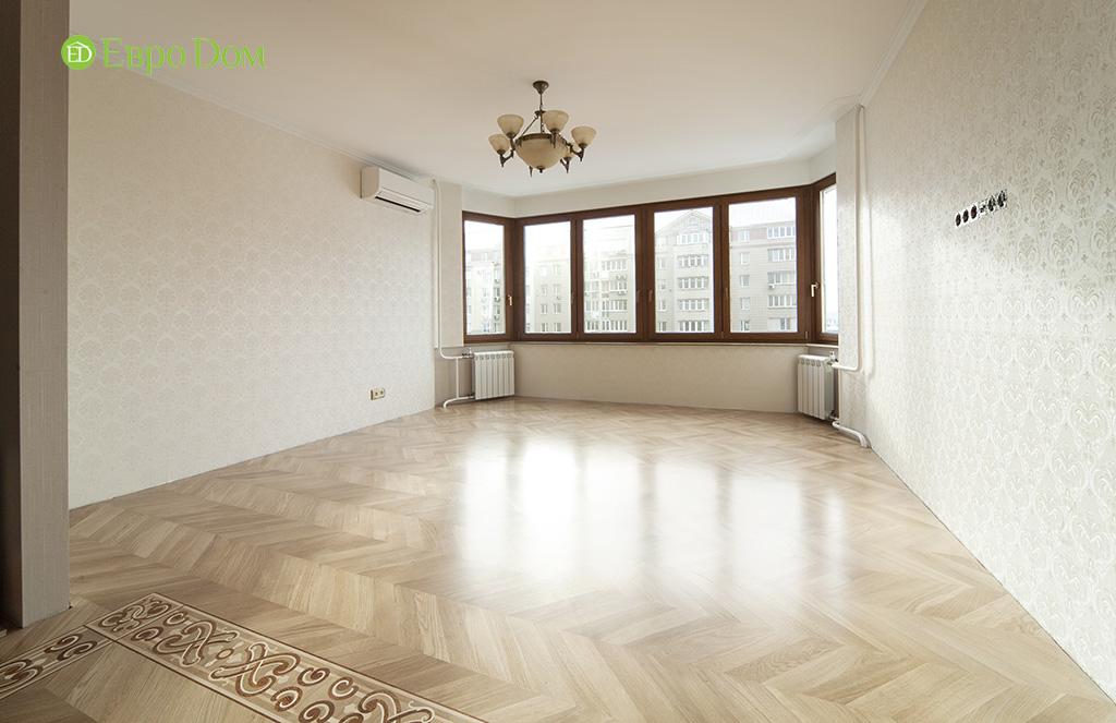 Ремонт трехкомнатной квартиры с стиле неоклассика. Фото 011