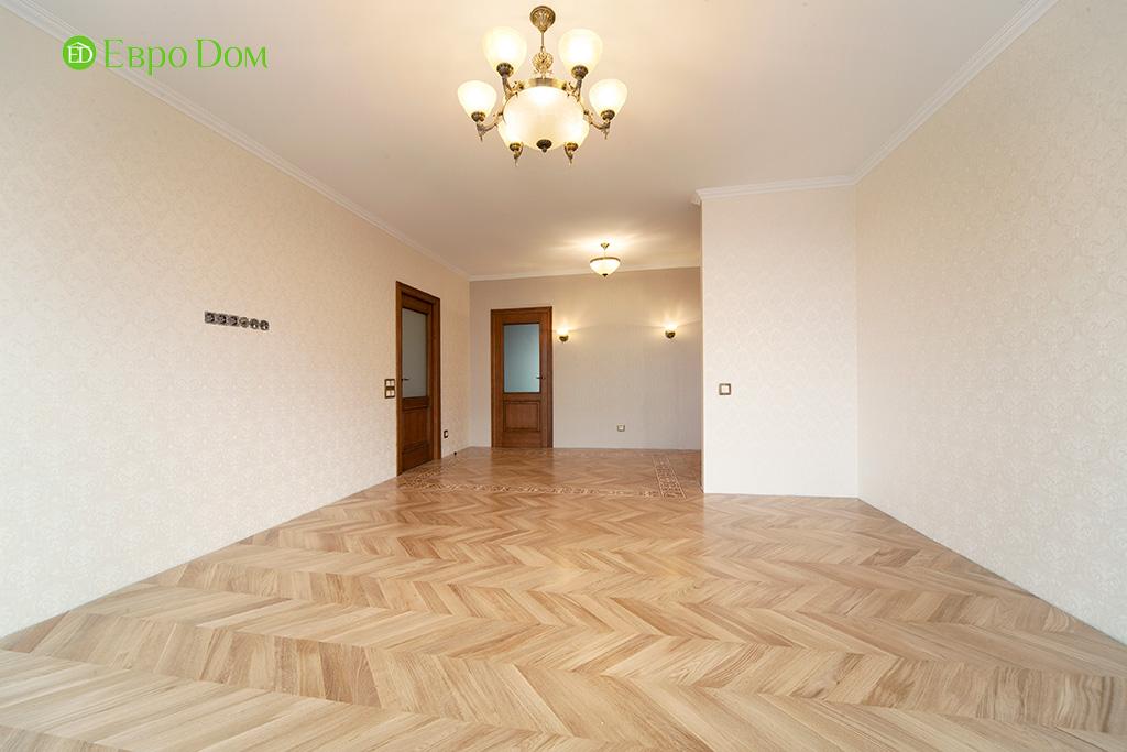 Ремонт трехкомнатной квартиры с стиле неоклассика. Фото 013