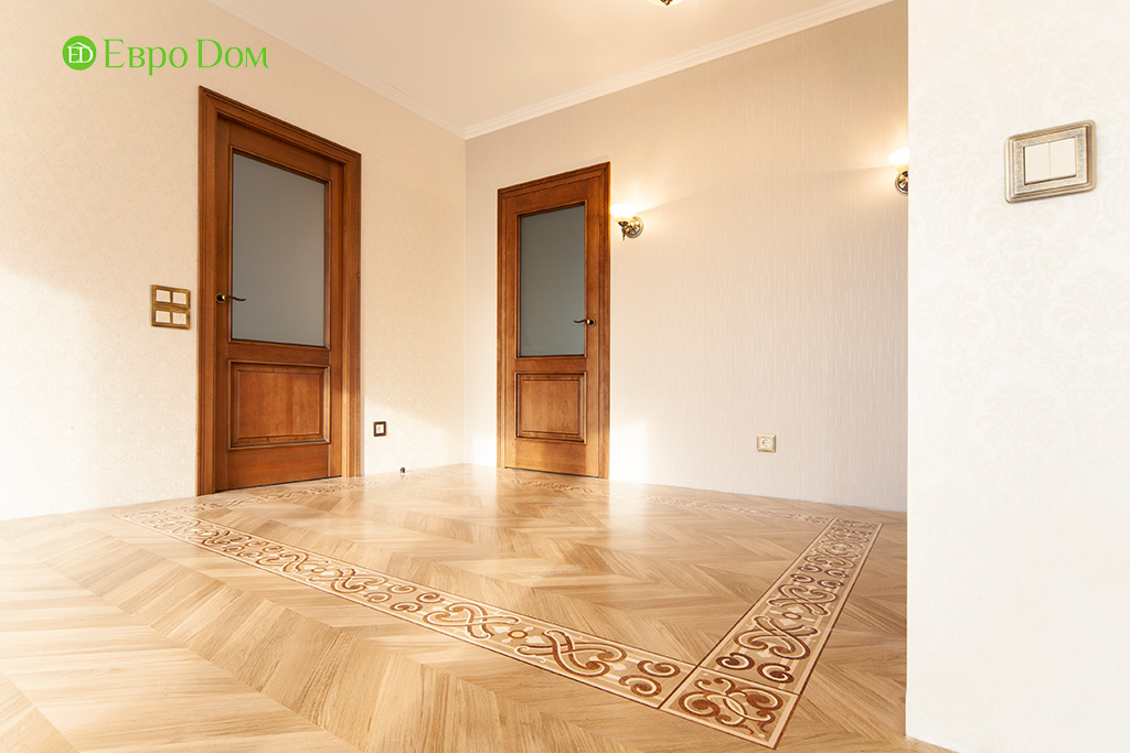 Ремонт трехкомнатной квартиры с стиле неоклассика. Фото 015