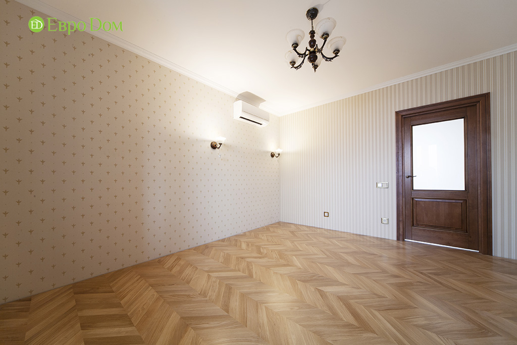 Ремонт трехкомнатной квартиры с стиле неоклассика. Фото 017