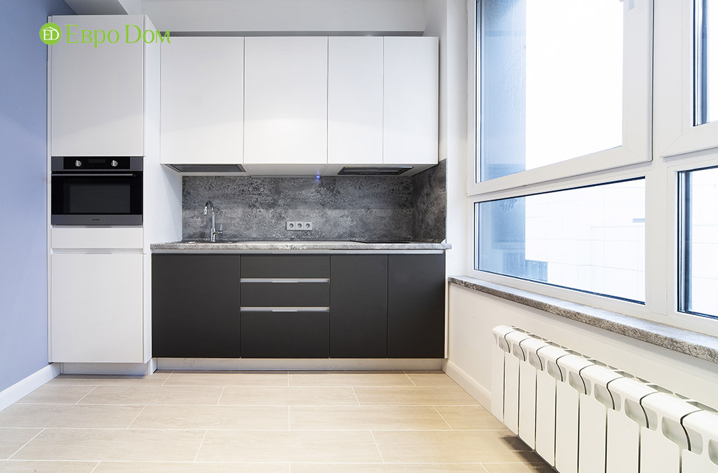 Ремонт квартиры-студии с современном стиле. Фото 03