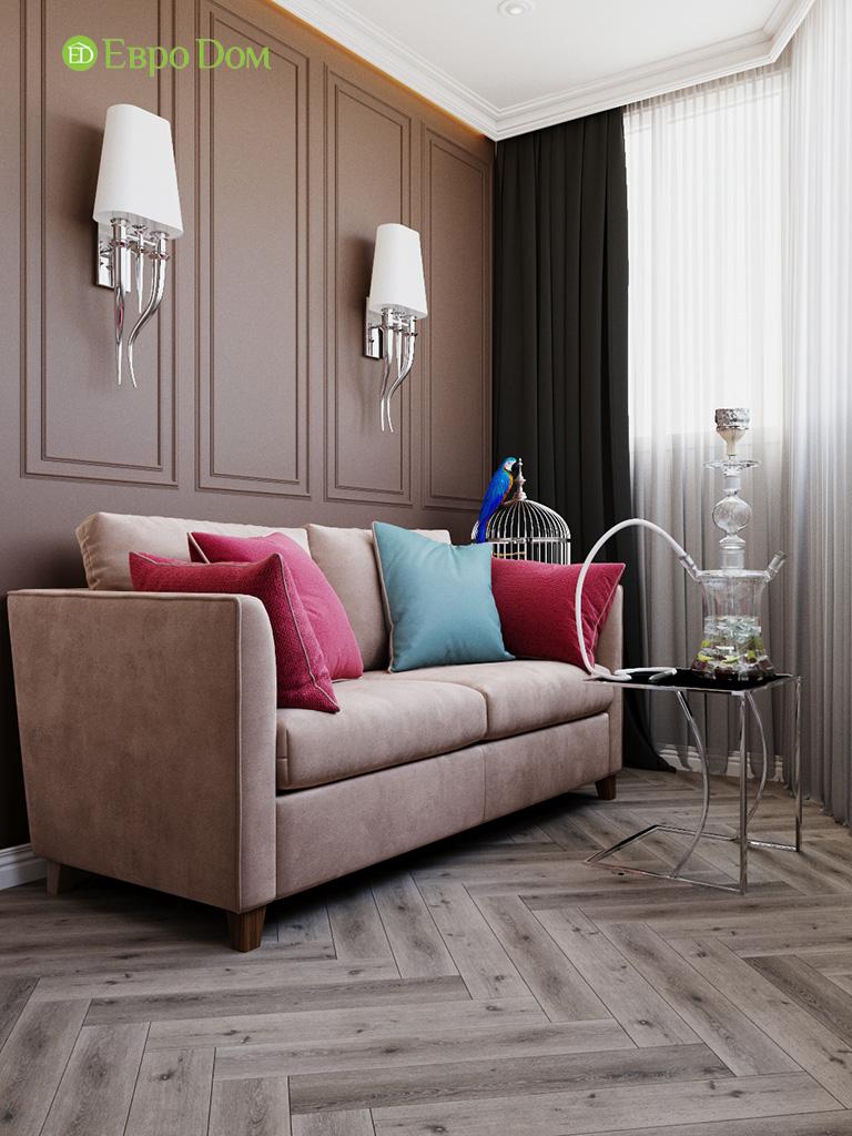 Дизайн четырехкомнатной квартиры с стиле неоклассика. Фото 06