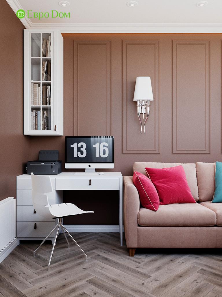 Дизайн четырехкомнатной квартиры с стиле неоклассика. Фото 09