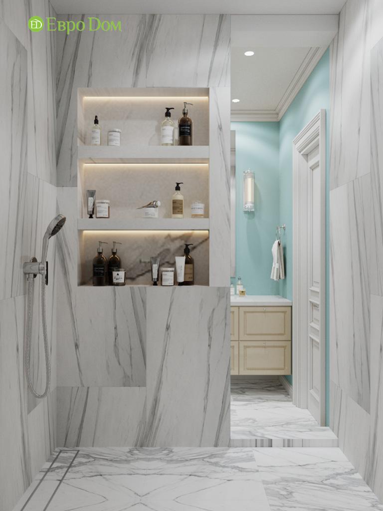 Дизайн четырехкомнатной квартиры с стиле неоклассика. Фото 013