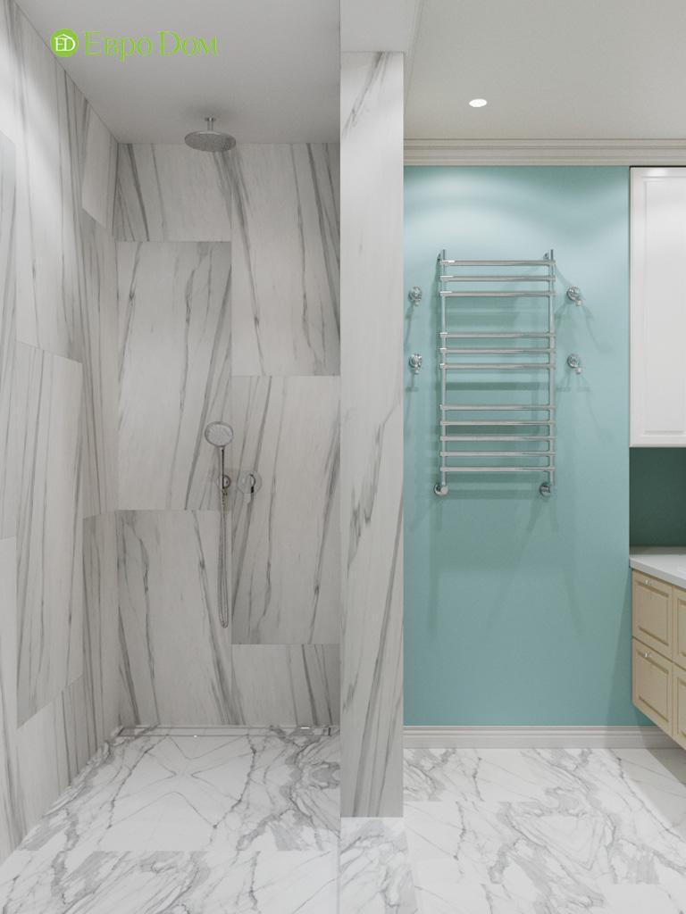 Дизайн четырехкомнатной квартиры с стиле неоклассика. Фото 015