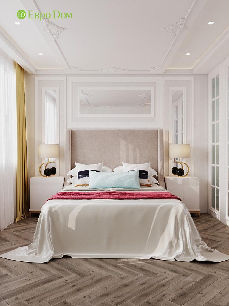 Дизайн четырехкомнатной квартиры с стиле неоклассика. Фото 016