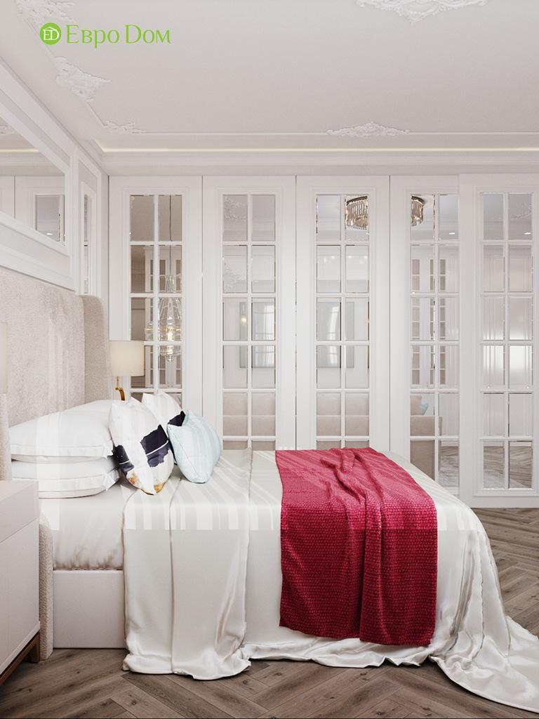Дизайн четырехкомнатной квартиры с стиле неоклассика. Фото 019