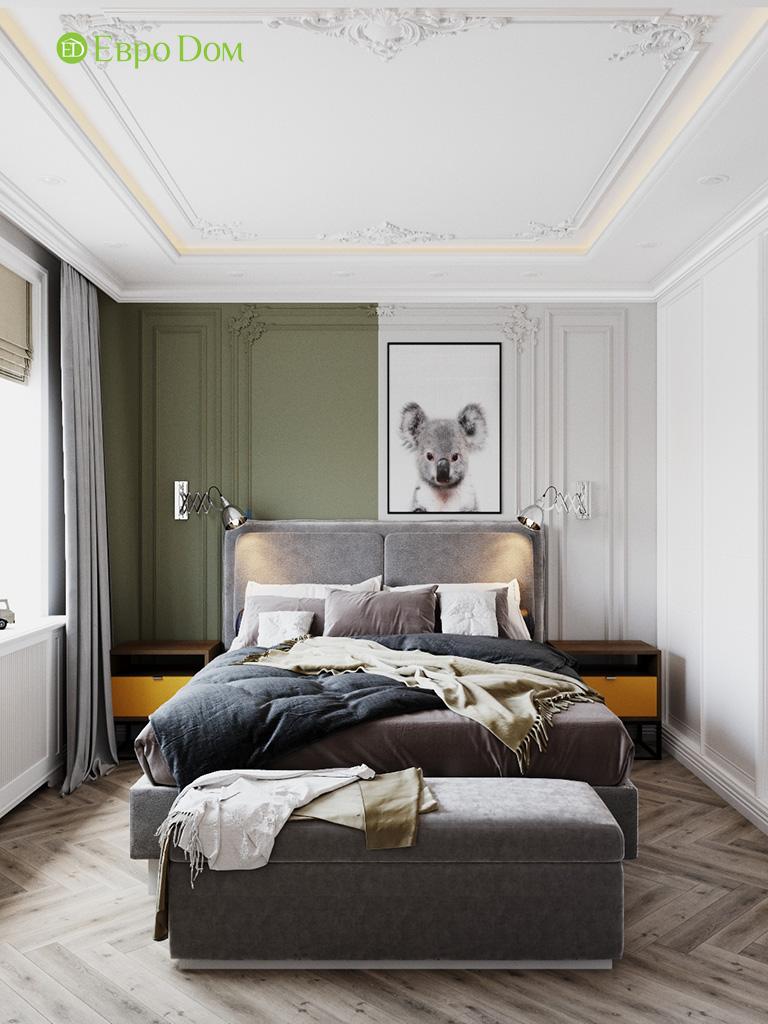 Дизайн четырехкомнатной квартиры с стиле неоклассика. Фото 020