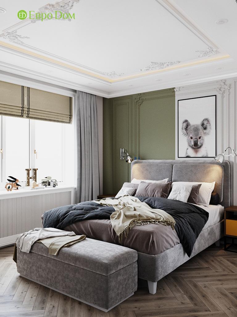 Дизайн четырехкомнатной квартиры с стиле неоклассика. Фото 021