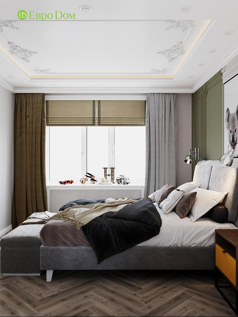Дизайн четырехкомнатной квартиры с стиле неоклассика. Фото 022
