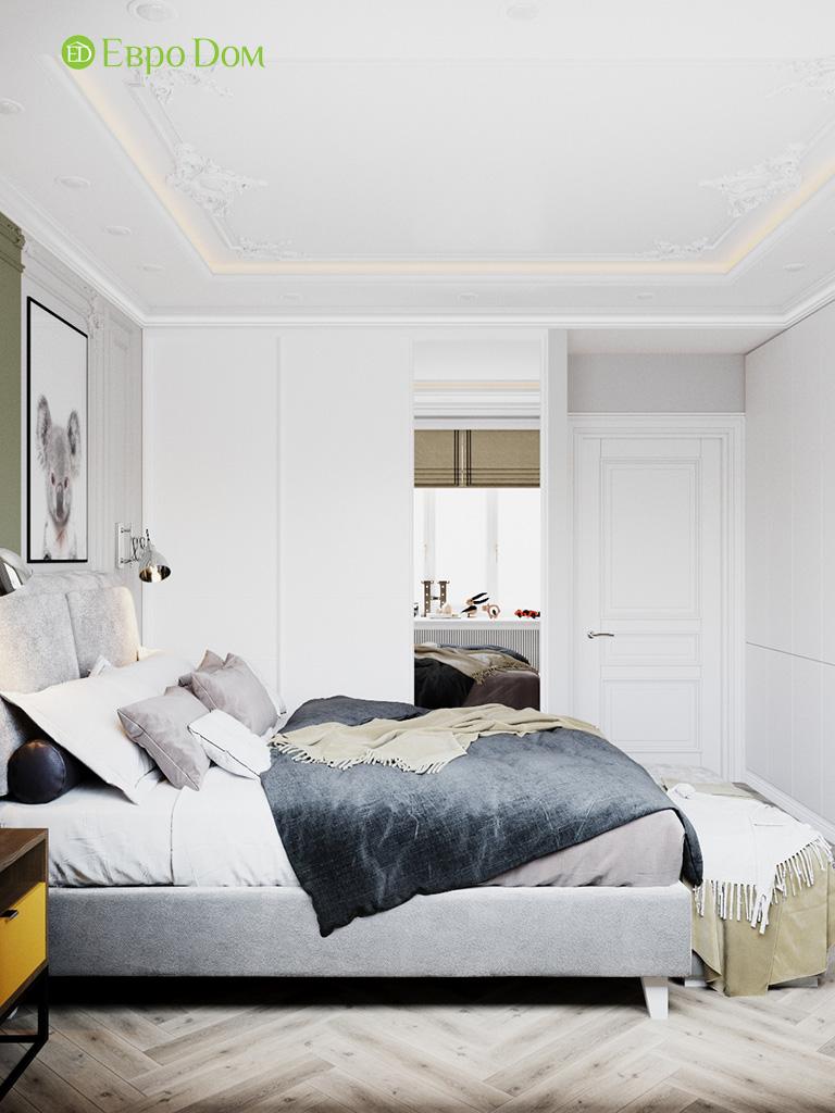 Дизайн четырехкомнатной квартиры с стиле неоклассика. Фото 023