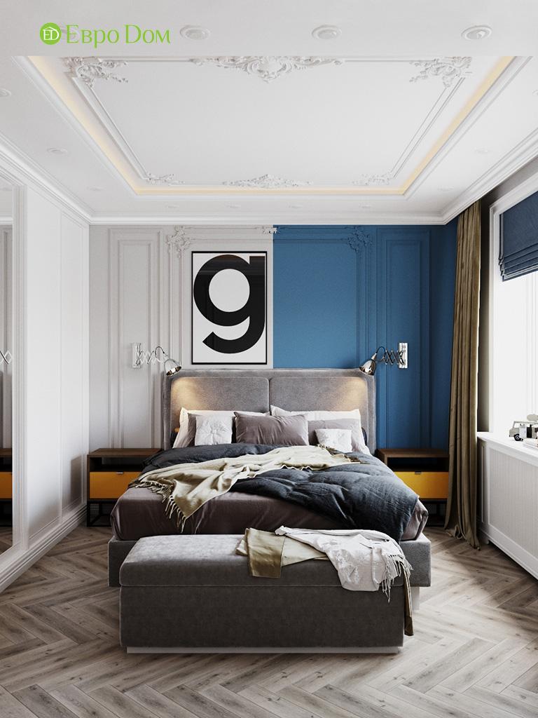 Дизайн четырехкомнатной квартиры с стиле неоклассика. Фото 025