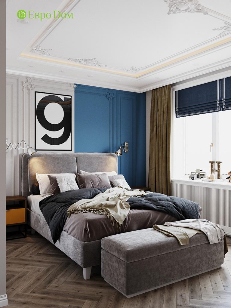 Дизайн четырехкомнатной квартиры с стиле неоклассика. Фото 026