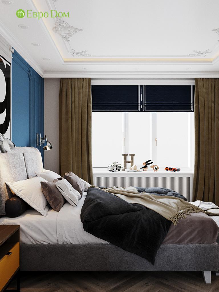 Дизайн четырехкомнатной квартиры с стиле неоклассика. Фото 028