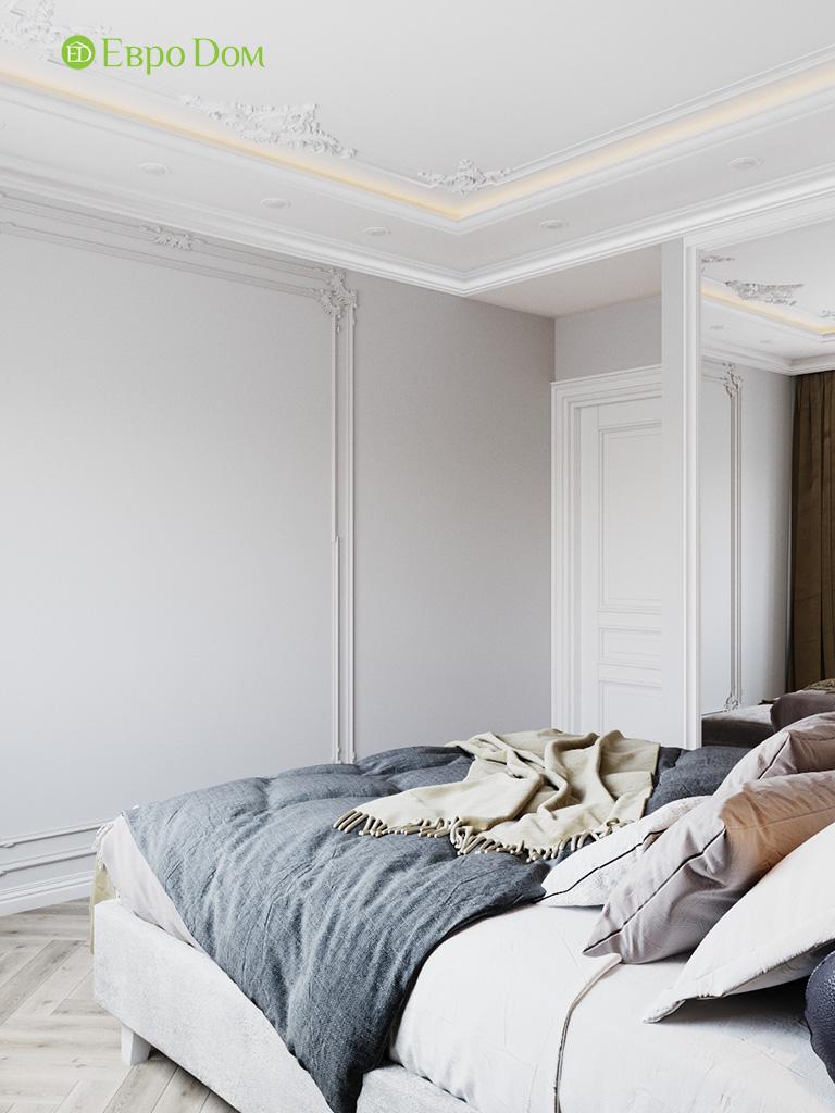 Дизайн четырехкомнатной квартиры с стиле неоклассика. Фото 029