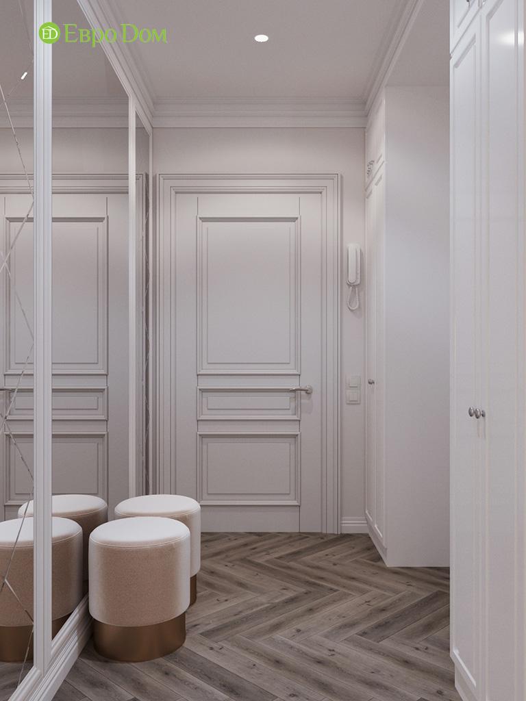 Дизайн четырехкомнатной квартиры с стиле неоклассика. Фото 030