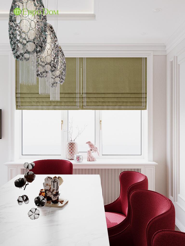 Дизайн четырехкомнатной квартиры с стиле неоклассика. Фото 036