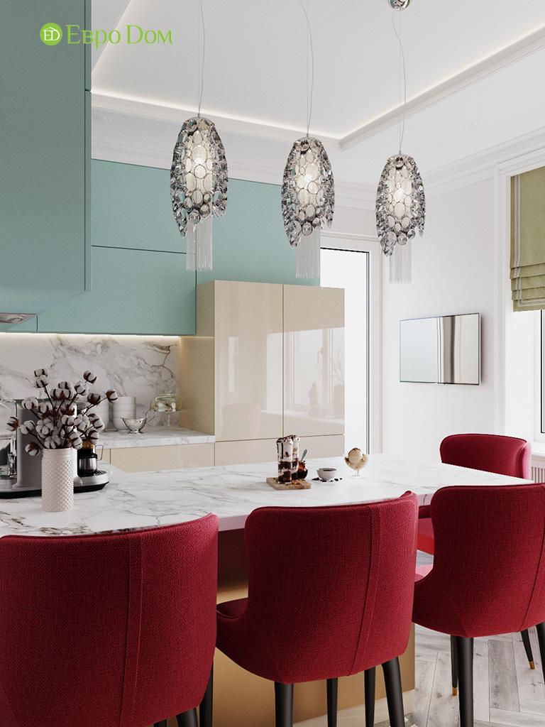 Дизайн четырехкомнатной квартиры с стиле неоклассика. Фото 037