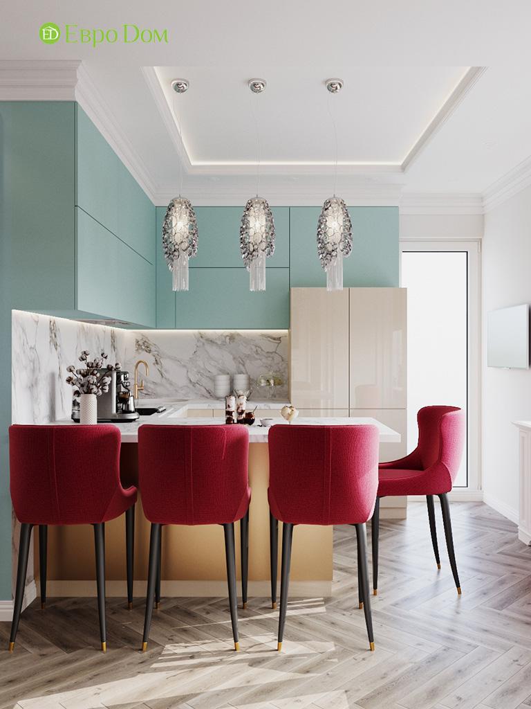 Дизайн четырехкомнатной квартиры с стиле неоклассика. Фото 038