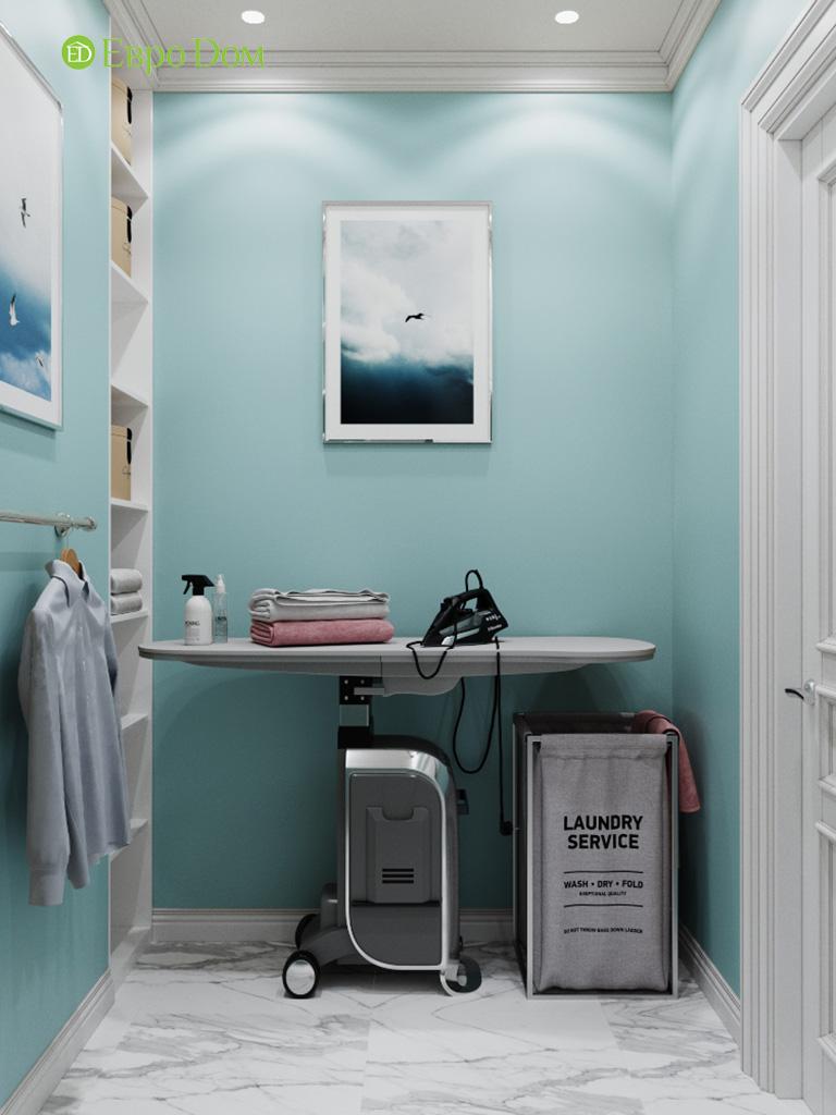 Дизайн четырехкомнатной квартиры с стиле неоклассика. Фото 039