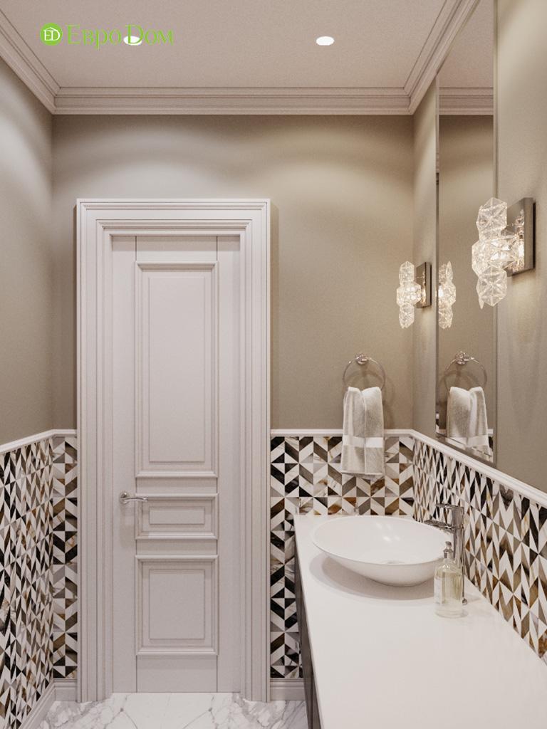 Дизайн четырехкомнатной квартиры с стиле неоклассика. Фото 045