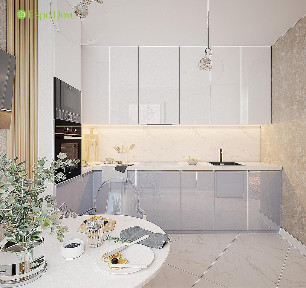 Дизайн двухкомнатной квартиры 70 кв. м в современном стиле. Фото 05
