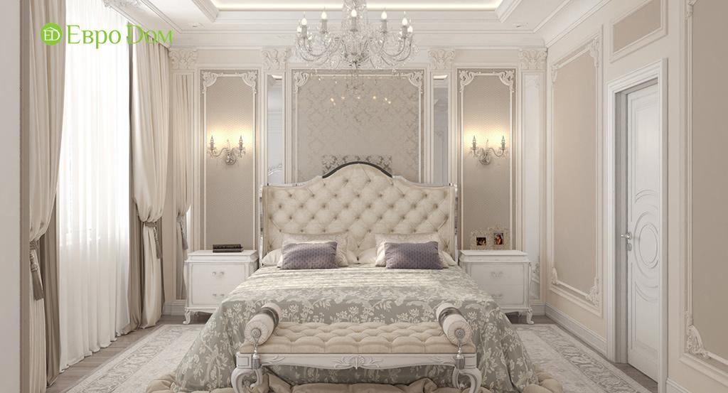 На фото: Спальня в классическом стиле