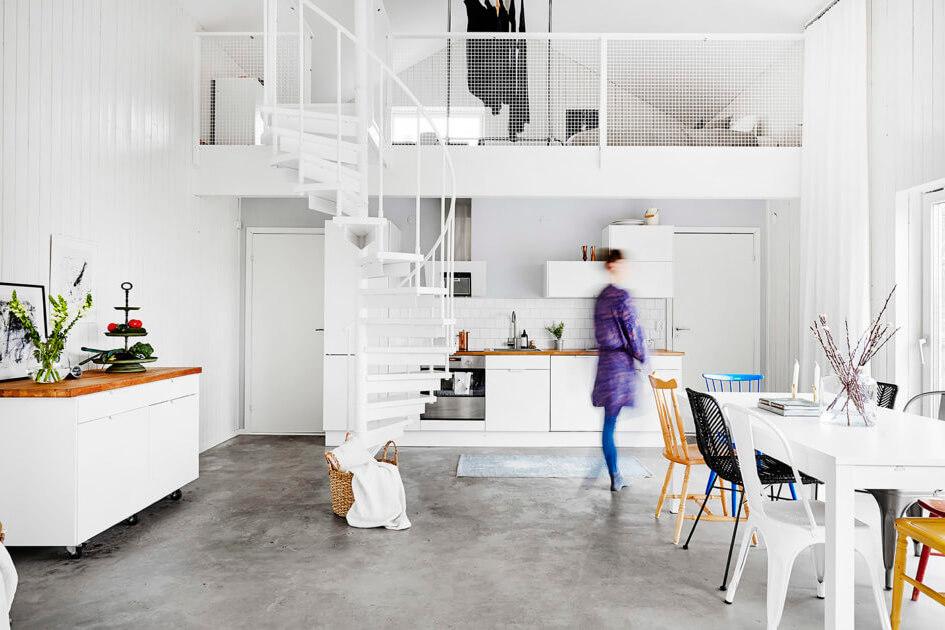 Кухня и комната в одном помещении