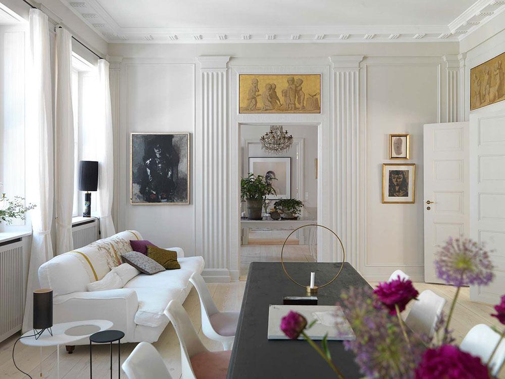 Стиль неоклассика в дизайне интерьера: 70 фото